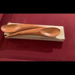 Wooden big spoons
